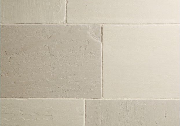 The Worn Ivory Sandstone is a soft stone which ranges in colour from ivory to pale olive.