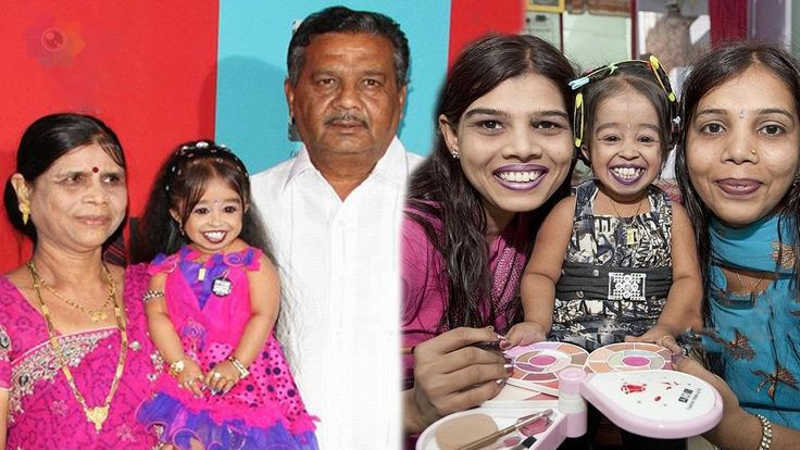 Shortest Tv Star Jyoti Amge Family With Father,Mother,Brother&Sister Photos