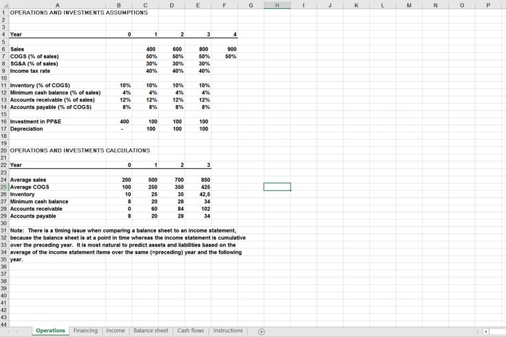 Do you need financial statements as an excel workbook