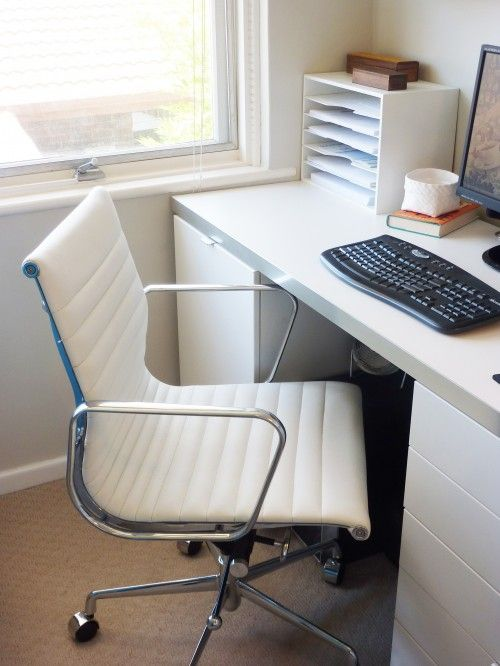 This office chair. http://www.milandirect.com.au/shop/office-chair-management-eames-reproduction-white/