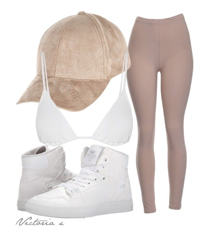 """""""Niykee Heaton Inspired"""" by sweetdecember ❤ liked on Polyvore featuring River Island, Eres and Supra"""
