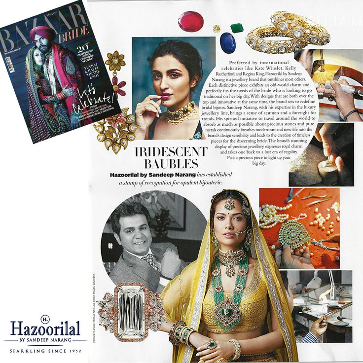 #IridescentBaubles - #HazoorilalBySandeepNarang has established a stamp of recognition for opulent bijouterie.  #HazoorilalPressRelease #BazaarBride #BridalJewellery #JewelleryTrendsetters #HLbySN #SandeepNarang #ItcMaurya #DlfEmporio #HazoorilalJewellers #Hazoorilal
