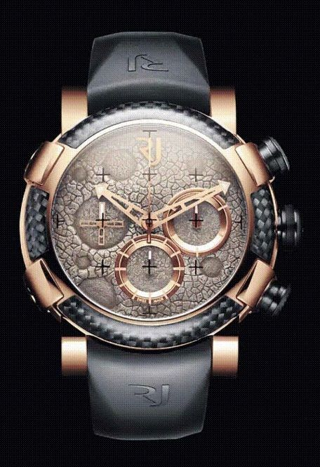 Romain Jerome Moon Dust Red Mood Chrono (actual moon dust in the dial)