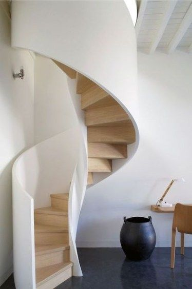 Contemporary Stairs Design to loft