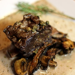 Short Ribs with Wine and Cream: One of those slow cook, walk away and ...
