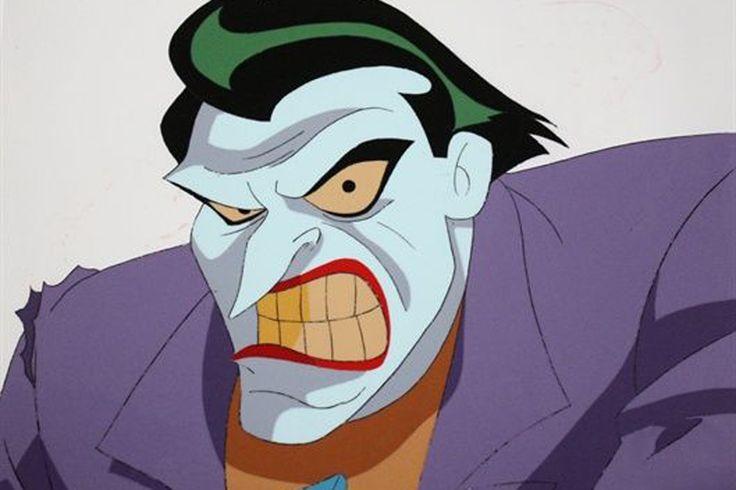 Animated Joker Annoyed