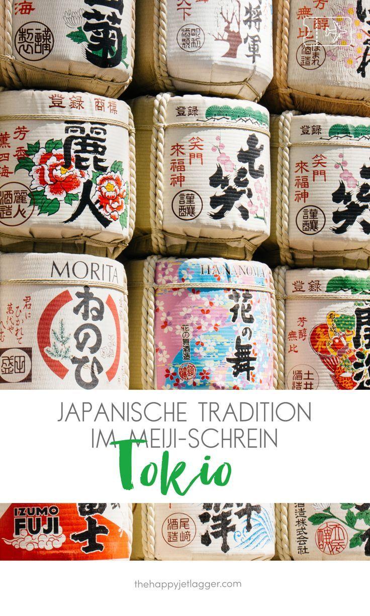 Der Meiji-Schrein in Tokyo ist eine der beliebtesten Sehenswürdigkeiten in Tokyo. Dort kannst Du auch echte japanische Hochzeiten sehen! Japanische Tradition im Meiji-Schrein in Tokio, Japan - Reiseführer Tokio auf thehappyjetlagger.com