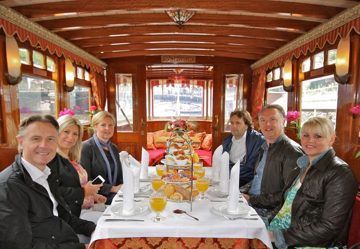 Breakfast cruise in the canals of Amsterdam