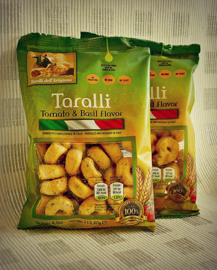 Tomato and Basil Taralli