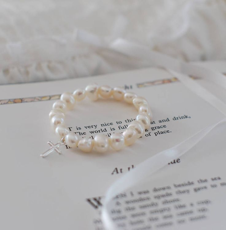 Christening Bracelet from notonthehighstreet.com