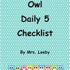 FREE and CUTE!     This checklist is made for you by special request from a follower.  I hope you can all get some use out of it.  Please keep the special requests co...