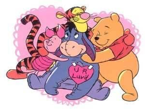 Winnie The Pooh Valentine Pictures | Eyore Love   Winnie The Pooh Picture