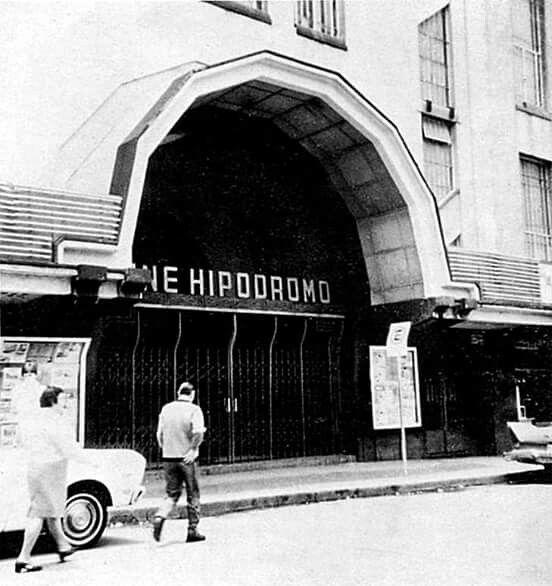 Cine Hipodromo en Av. Jalisco y Av. Revolución