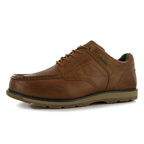 Oferta: 40.99€. Comprar Ofertas de Kangol - Zapatos de cordones de Piel para hombre, color marrón, talla 8 (42) barato. ¡Mira las ofertas!