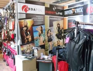 Ledapol's booth at this year German Fetish Fair