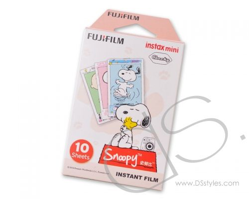 Fujifilm Instax Mini Film for Fuji Instant Camera - Snoopy, 10 Sheets                  http://www.dsstyles.com/product/fujifilm-instax-mini-film-for-fuji-instant-camera---snoopy,-10-sheets
