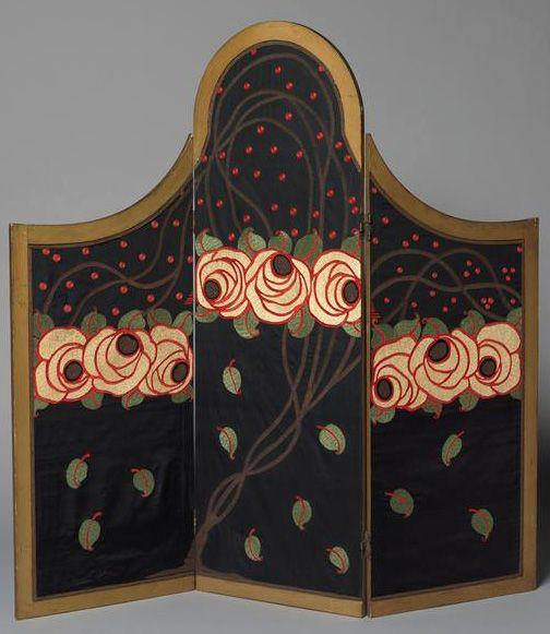 paul poiret et raoul dufy art d co paravent 1912 art deco inspiration4 pinterest. Black Bedroom Furniture Sets. Home Design Ideas