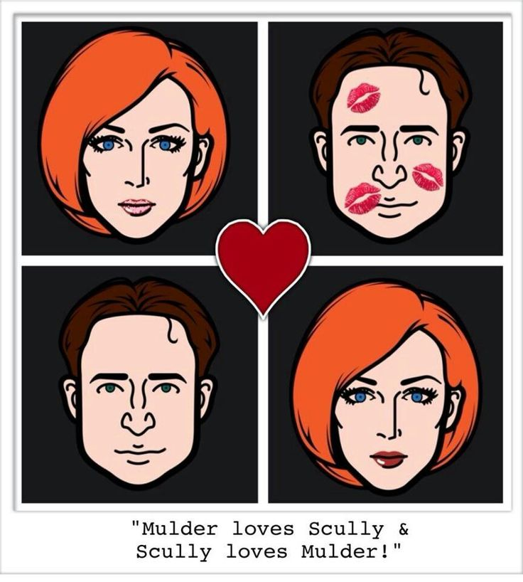 Mulder loves Scully and Scully loves Mulder.  :)