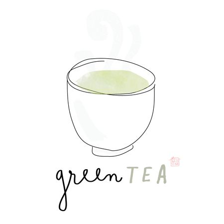 green tea mindfulness // the { green } in green tea always keeps you guessing. its shades are subtle, ever shifting, at once golden & green & hopeful ... #inspirationrx | KARMOMO