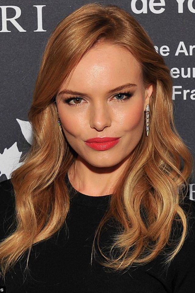 Kate Bosworth. love her! She has such beautiful cheek bones
