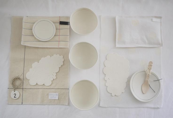 porcelaine & textile