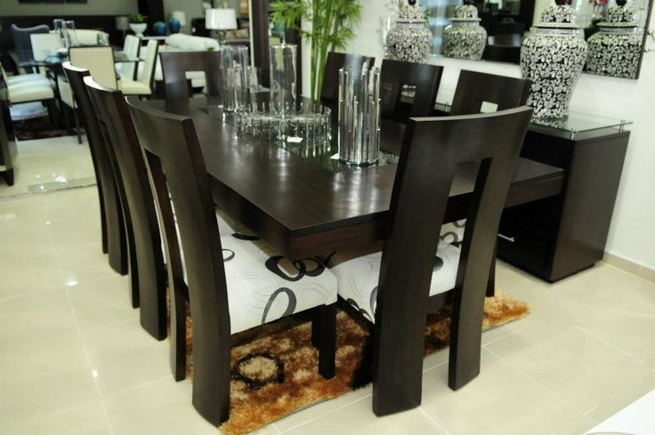 17 best ideas about juegos de comedor modernos on for Comedores contemporaneos