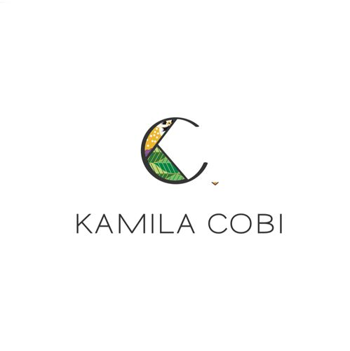 Logo para Kamila Cobi. Artista colombiana radicada en Australia.