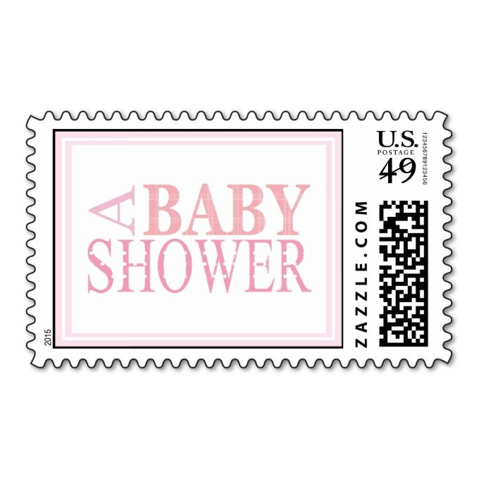 Best Baby Announcement Postage Stamps Images On