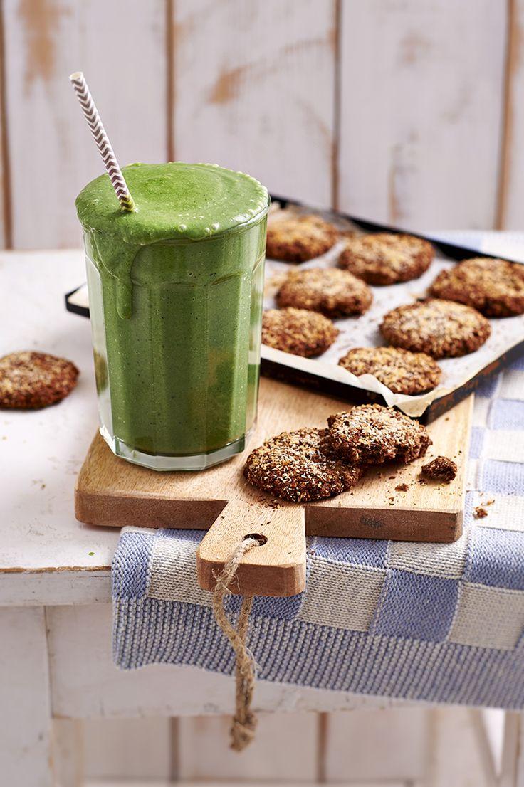 Dit sap recept voor mijn Green Monster komt uit Lissabon en ik was er zo dol op dat ik het thuis nog eens heb gemaakt. Het geeft je ontzettend veel energie!