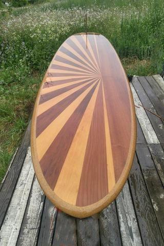 Hollow Wooden Surfboards | Ventana Surfboards & Supplies