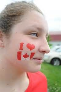 canada day themed face paint - Bing Images