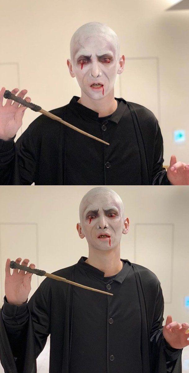 Shinee Key Costume Halloween 2020 Happy Halloween! Check Out SHINee's Key as Voldemort   Shinee