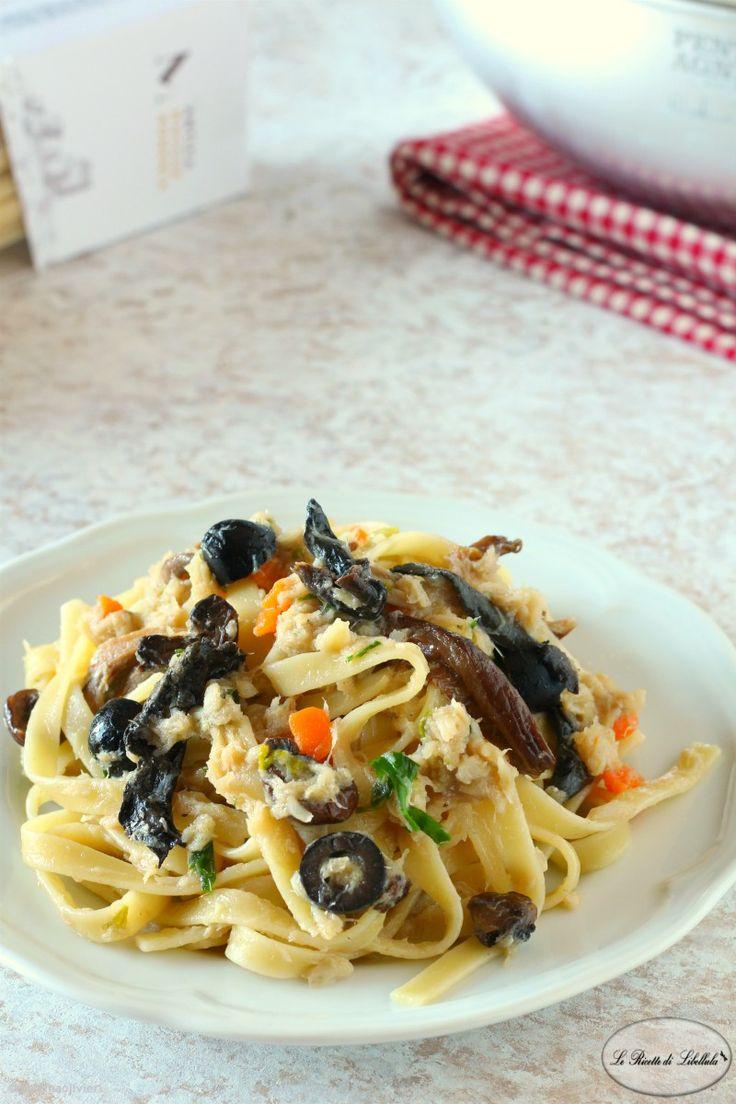 La pasta al baccal con funghi e olive un ricco e for Piatto della cucina povera