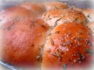 Buttered Rosemary Rolls | Bread Anyone? | Pinterest