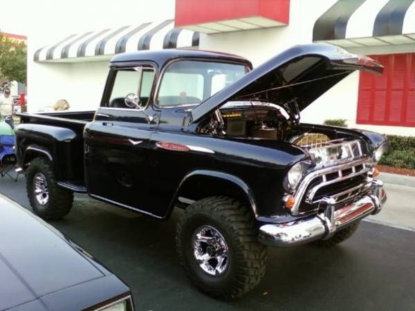 Chevy Lifted Trucks >> 1957 Chevrolet Apache 3100 Napco - NAPCO Owners Group 4x4 Photo Gallery | Chevrolet apache, 1957 ...