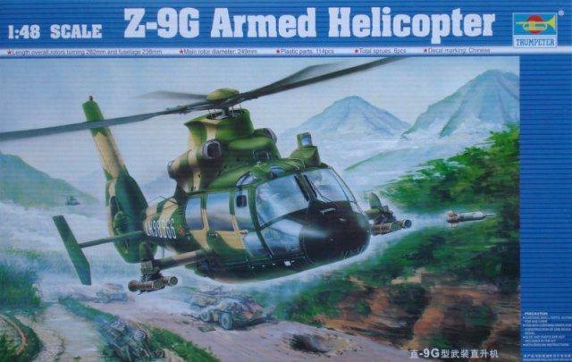 trumpeter z-9g armed helicopter - Modeledo.pl