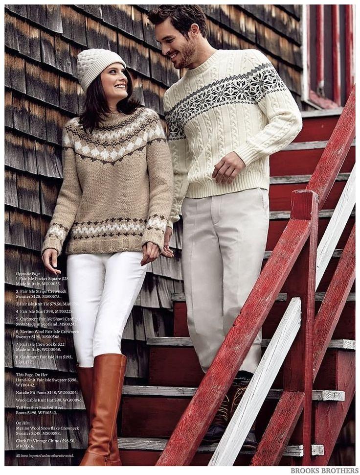 Brooks Brothers Features Men's Fair Isle Sweaters | Brooks ...