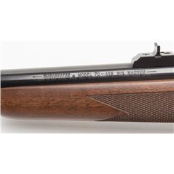 "Winchester Model 70 Super Express bolt action rifle, .458 Win. Mag. cal., 22"" heavy round barrel,"