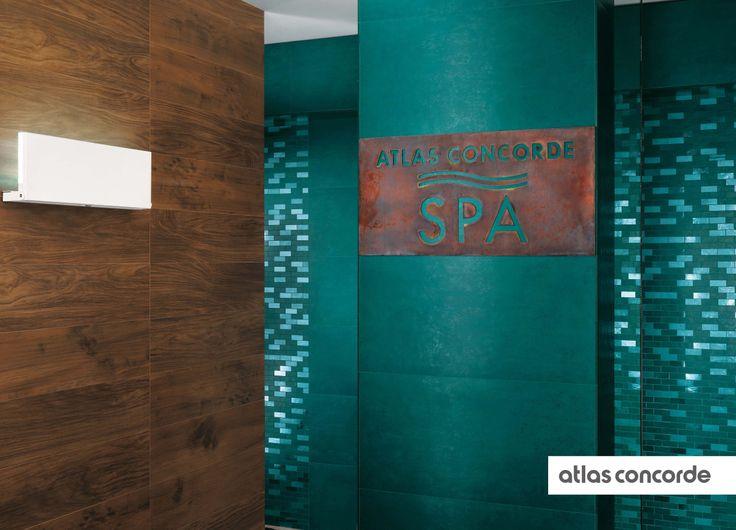 #EWALL petroleum green | #AtlasConcorde | #Tiles | #Ceramic
