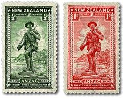 ANZAC | New Zealand Post Stamps