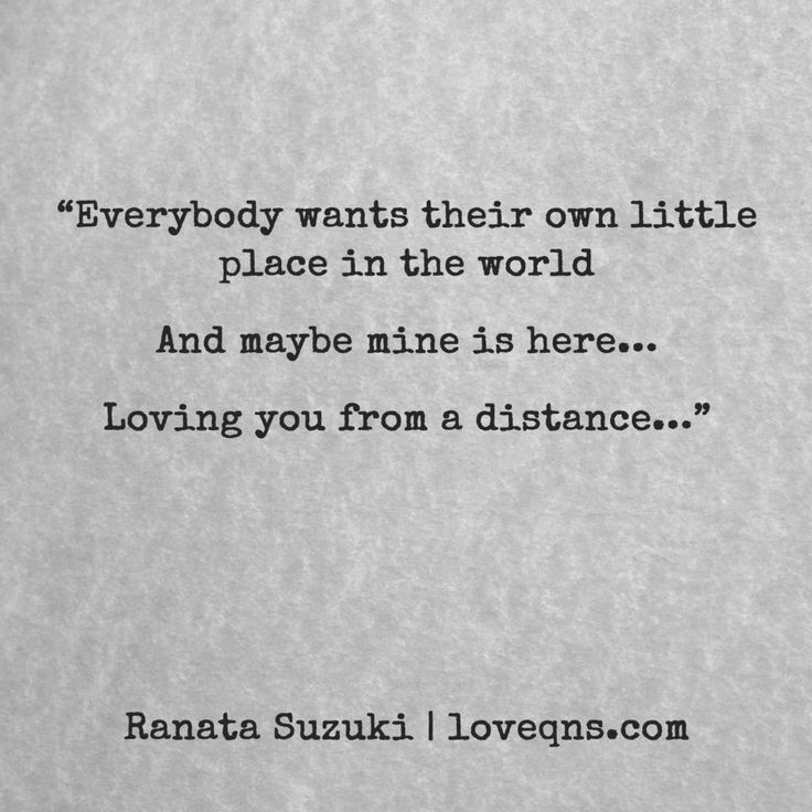 Distance Quote Loving You: Best 25+ Love From A Distance Ideas On Pinterest
