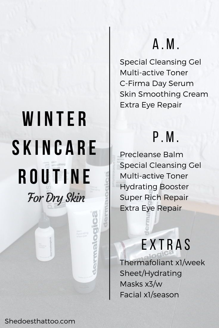 Winter Skincare Routine Dry Skin Edition Shedoesthattoo Winter Skin Care Routine Winter Skin Care Dry Skin Routine