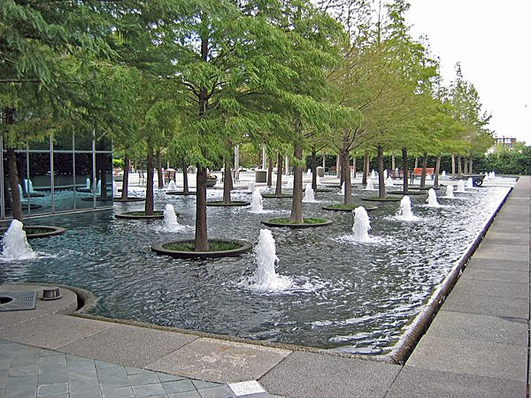 """Fountain Place<br/>Photo by Charles Birnbaum:: ::The Cultural Landscape Foundation<br/><a href=""""/albums/fountain-place"""">View album</a>"""