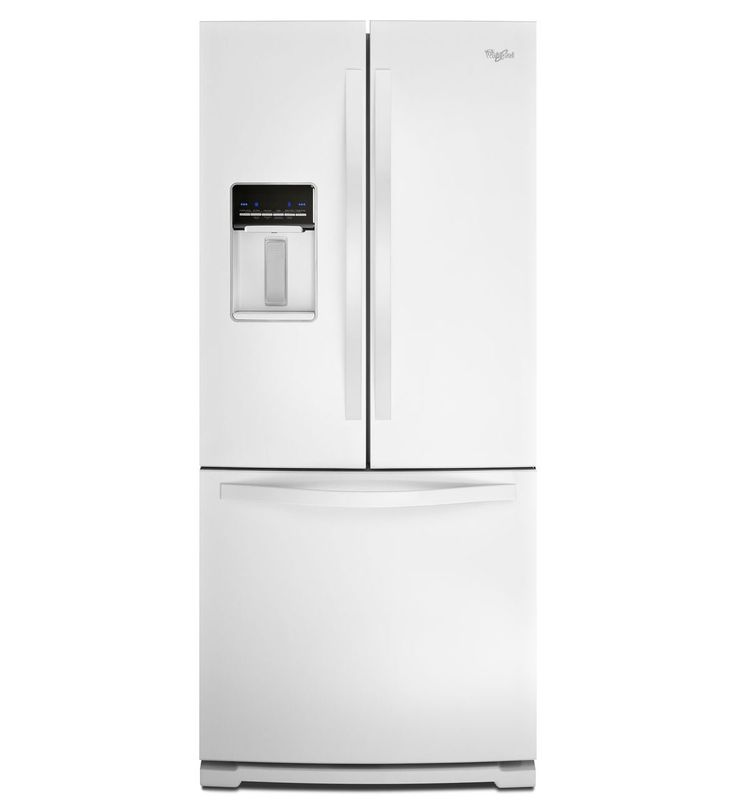 30 inch wide french door refrigerator with exterior water for Wide french doors