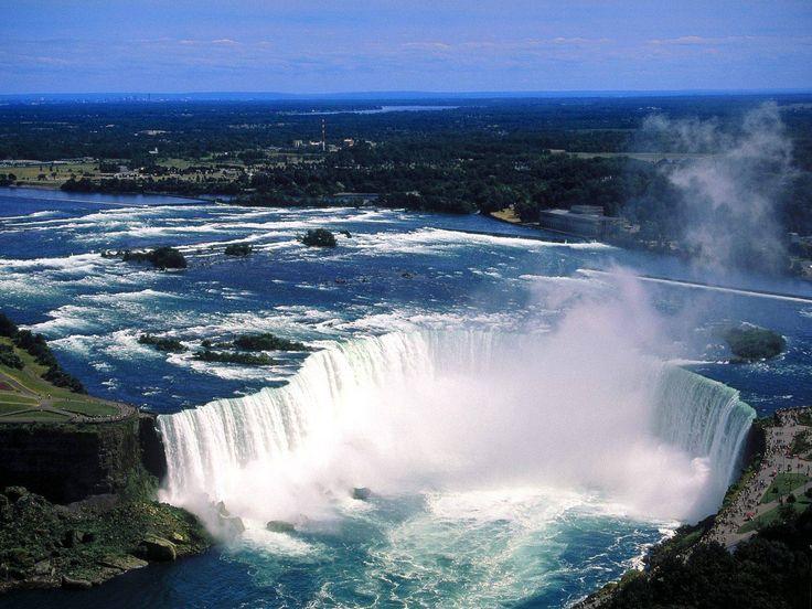 canada    Plus belles chutes d'eau du monde » Niagara Falls Canada