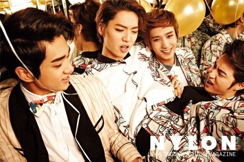 TEEN TOP and 100% throw a Christmas party for 'Nylon'   allkpop.com