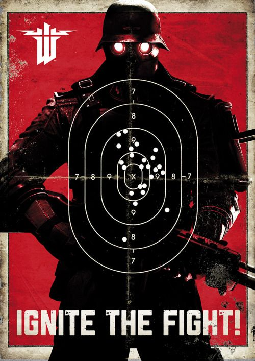 Geek Art Gallery: Posters: Wolfenstein: The New Order #gaming #wolfenstein