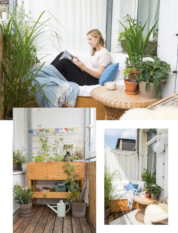 Toll Blumen Pflanzen, Balkon, Kiel