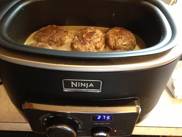 Homemade Salisbury Steak Recipe For The Ninja Cooking System