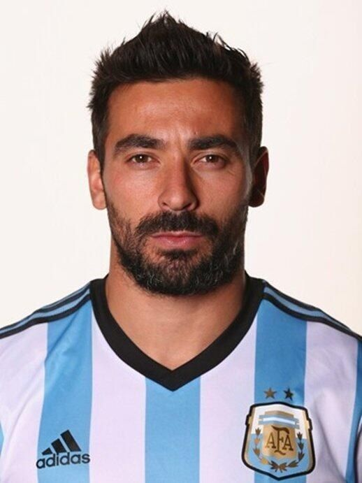 Ezequiel Lavezzi - Forward - Argentina | The Definitive List Of Hot Soccer Players In The 2014 World Cup